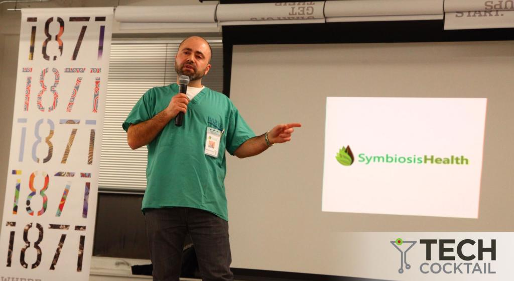 Pitch for Symbiosis Health at Tech Cocktail 2014